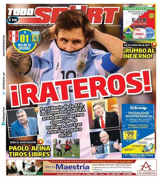 阿根廷被指已内定获胜 全因FIFA主席说了这番话