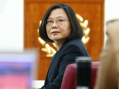 蔡英文:中国领导人理性 应不会对台动武