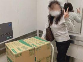 """求日本医生""""送10箱口罩给家人"""" 中国女业务高价转卖po网炫富"""