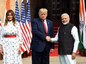 川普访印 莫迪:美印关系提升至全球伙伴