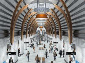 墨尔本城铁隧道站即将建成,州长亲临视察