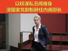 以权谋私丑闻缠身 澳国家党副魁辞任内阁部长
